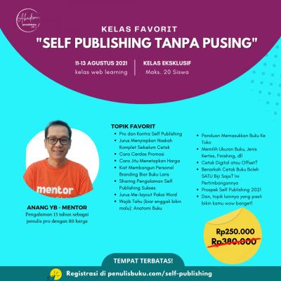 kelas self publishing